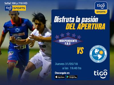 Independiente CG se enfrenta a Sol de América