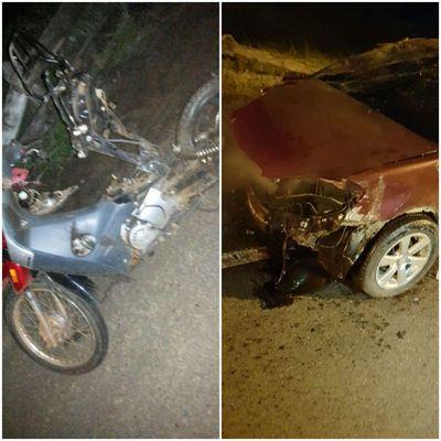 Conductor ebrio causó accidente fatal