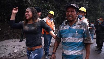 Ya suman 25 los muertos por el volcán en Guatemala