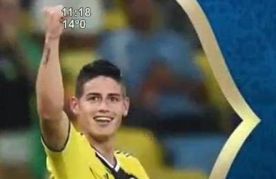 Anatomía del gol de James Rodríguez