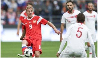 Rusia evidencia sus debilidades en la última prueba antes del Mundial