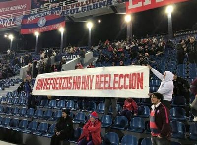 """""""Sin refuerzos no hay reelección"""""""