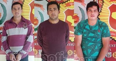 Detienen a tres asaltantes en operativos