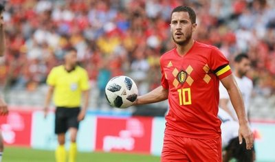 Bélgica golea con facilidad a un Egipto que espera a Salah
