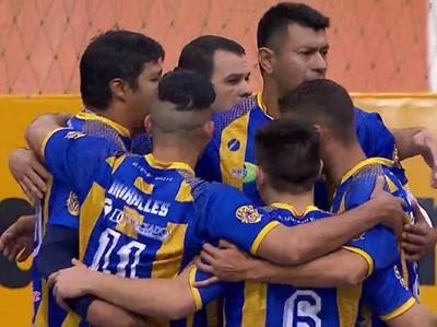 Luque Vóley venció a Deportivo Colón