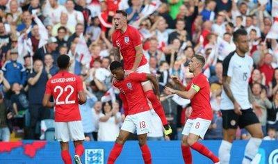 Rashford pide paso en la victoria de Inglaterra ante Costa Rica