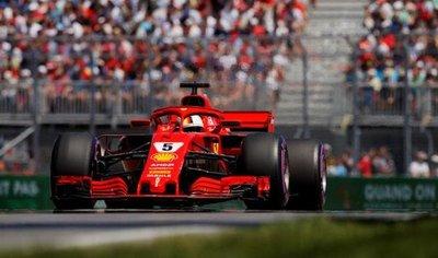 Vettel se quedó con la pole del Gran Premio de Canadá