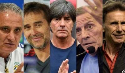 HOY / Tite, Lopetegui, Löw, Tabárez, Gareca: veteranos y novatos se citan en Rusia