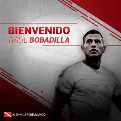 El delantero Raúl Bobadilla se convirtió en refuerzo de Argentinos Juniors