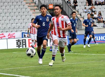 Japón supera a Paraguay en amistoso