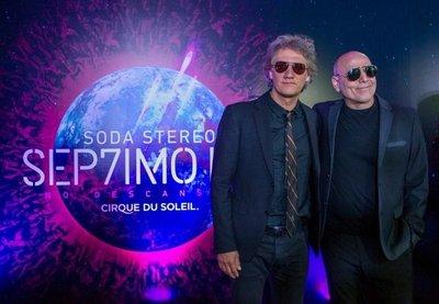 """Los ex Soda Stereo vienen para el """"Séptimo Día"""""""