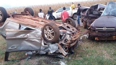 Los Cedrales: Choque de vehículos deja un fallecido