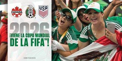 Canadá, México y EE.UU. serán las sedes del Mundial de fútbol 2026