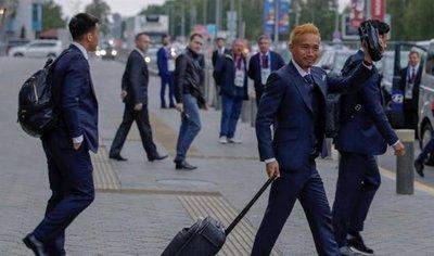 Las 32 selecciones ya están en Rusia