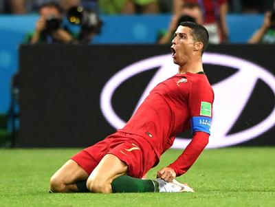 Las nuevas marcas de Cristiano Ronaldo