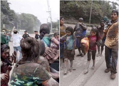 Guatemala vuelve a ser afectada por la furia de sus volcanes