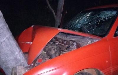 Automovilista chocó contra cocotero y acompañante falleció