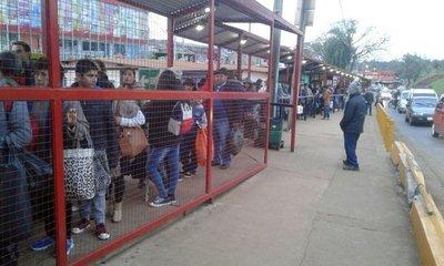 El frío atrajo a compradores argentinos en Encarnación