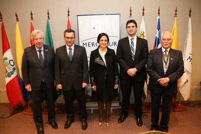 Ministros analizaron coyuntura y perspectiva económica regional