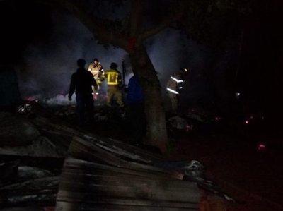 Incendio mató a una doña y dejó heridos de gravedad