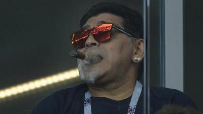 Para Maradona, Sampaoli es culpable