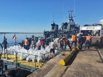 SEN enviará buque con cargamento para damnificados en el norte del Chaco