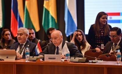 """HOY / """"El Mercosur ha vuelto a sus orígenes"""", afirma canciller e insta a concretar acuerdo con UE"""