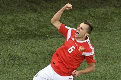Cheryshev alcanza a Cristiano Ronaldo