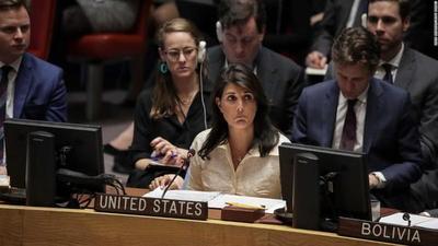 EEUU anuncia su retiro del Consejo de Derechos Humanos de la ONU
