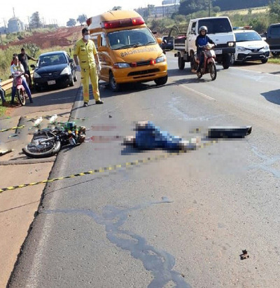 Accidente con derivación fatal sobre Ruta 7