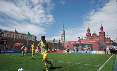 """HOY / La Plaza Roja albergará el """"Parque del Fútbol"""" hasta el final del Mundial"""