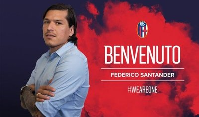 El Bologna da la bienvenida a Federico Santander