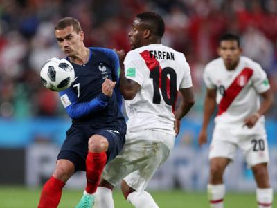 Antoine Griezmann fue el mejor del partido