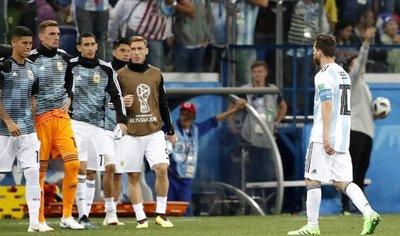Prensa argentina llora la catástrofe y ve a Albiceleste fuera del Mundial