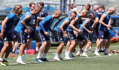 La ambición de Islandia vuelve a contraatacar contra Nigeria