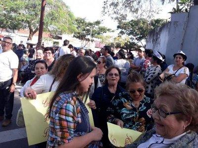 """Invasión"" en barrio Obrero"