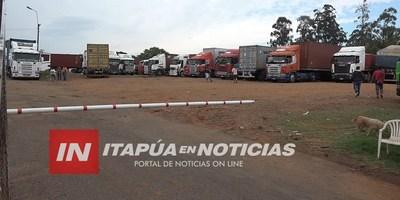 NUEVOS HURTOS A CAMIONES EN ZONA DE FRONTERA  PERO TODOS SIGUEN IMPUNES.