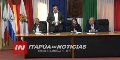 HACIENDA PRESENTA IMPORTANTE CAPACITACIÓN A MUNICIPALIDADES DE ITAPÚA.