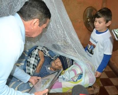 Único excombatiente sobreviviente de la ciudad de Concepción cumplió 108 años