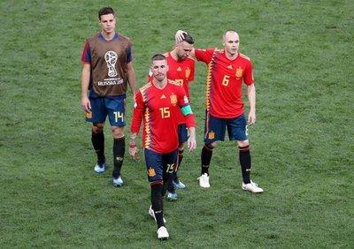 La eliminación de España, en números