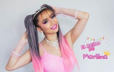 Marilina Bogado quiere ser la Xuxa paraguaya
