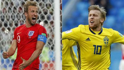 Suecos e Ingleses se enfrentan en un duelo histórico en cuartos de final