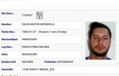 """Fugitivo brasileño sería el nuevo """"patrón"""" de la mafia en la frontera"""