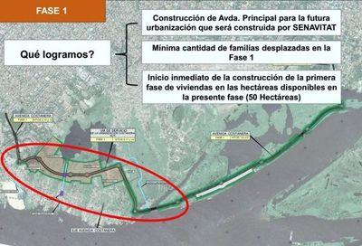MOPC: Costanera Sur será construida por fases