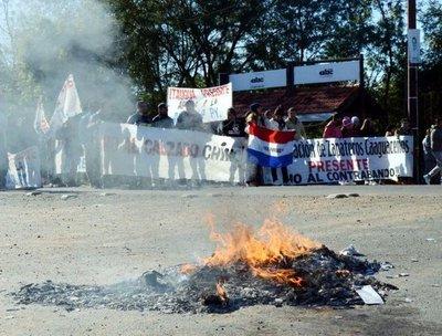 Zapateros cerraron Ruta 2 por 6 horas