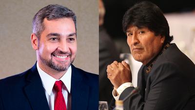 Marito y Evo conversarán sobre temas comerciales en La Paz