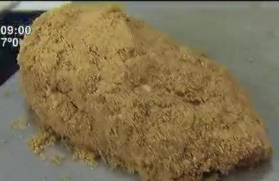 La cocina de cada día: Milanesa de pollo con puré de calabaza