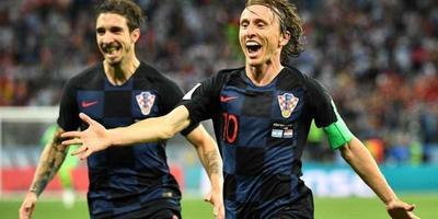 Croacia superó a Inglaterra y disputará su primera final mundial ante Francia