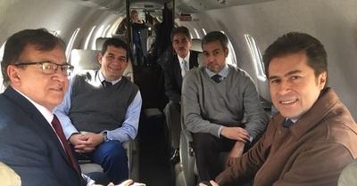 Marito viaja a Bolivia acompañado de Nicanor