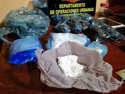 Una familia traficaba drogas en zona del Mercado Cuatro